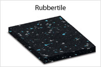 RubberTile™ Fitness / Weight Room Flooring