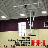 Draper TB-25R Basketball Backstop