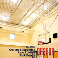 Draper TB-25S Basketball Backstop