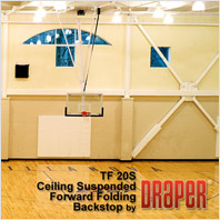 Draper TF-20S Basketball Backstop