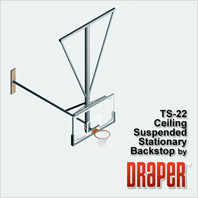 Draper TS-22 Basketball Backstop