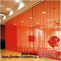 Draper Walk-Draw Gym Dividers